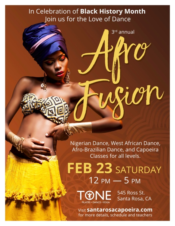 Afro Fusion 2019 flyer